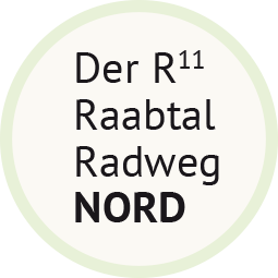 Der R11 Raabtal Radweg Nord