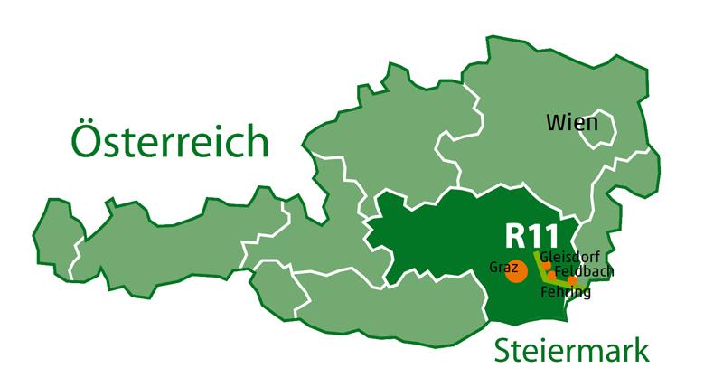 Anreise R11 Raabtal Radweg
