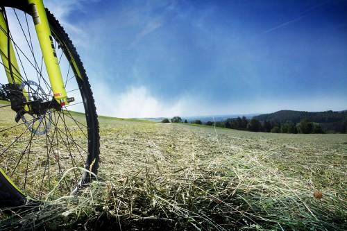 Fahrrad Aussicht Raabtal